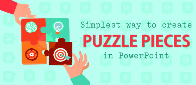 The Simplest Way to Create Puzzle Pieces in PowerPoint.