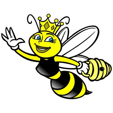 1,499 Cartoon Queen Bee Cliparts, Stock Vector And Royalty Free.