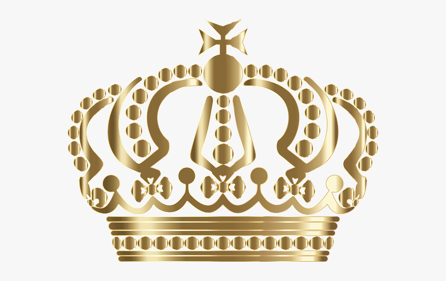 Queen Crown Clipart Golden Free.