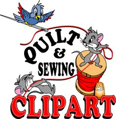 Free Quilting Clipart.