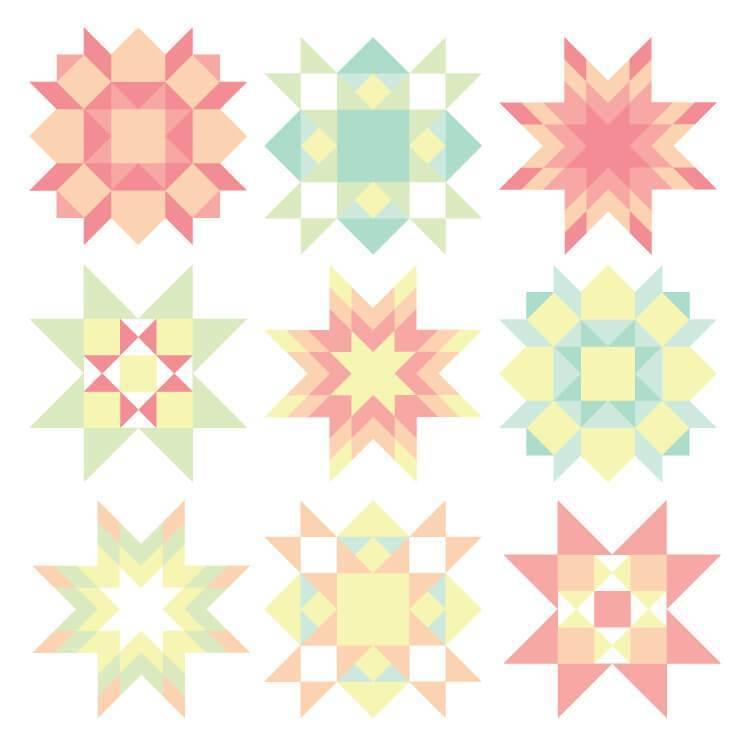 Quilt Block Clip Art.