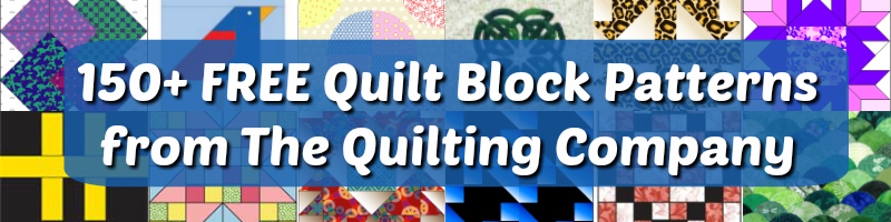 150+ Free Quilt Block Patterns.