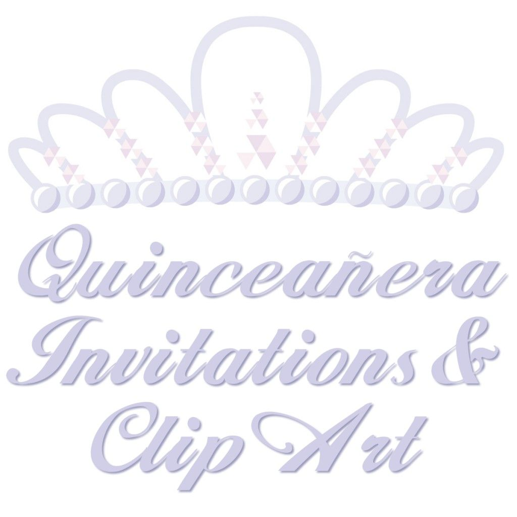 Free Quinceanera Invitations Templates and Clip Art.