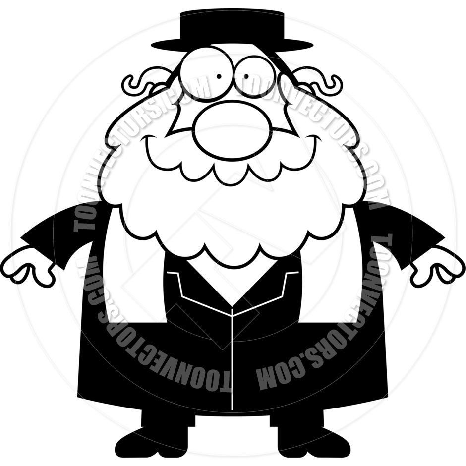 Showing post & media for Rabbi clip art cartoon.
