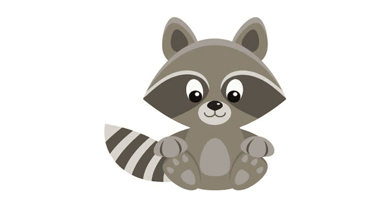 FREEBIE: Raccoon Clip Art.