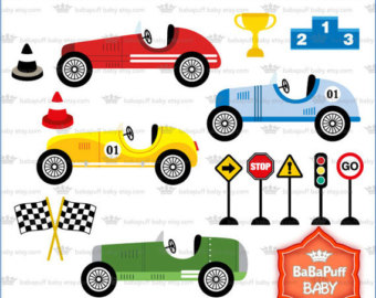 Race Car Clipart For Kids.
