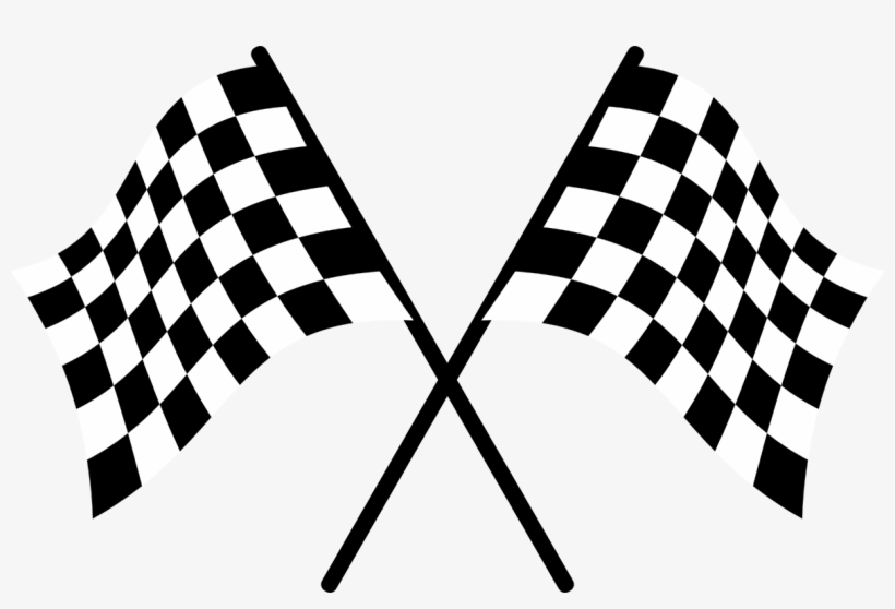 Racing Flags Auto Racing Clip Art.