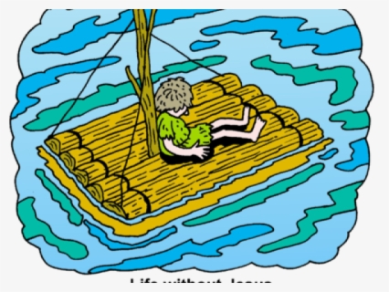 Free Raft Clip Art with No Background.