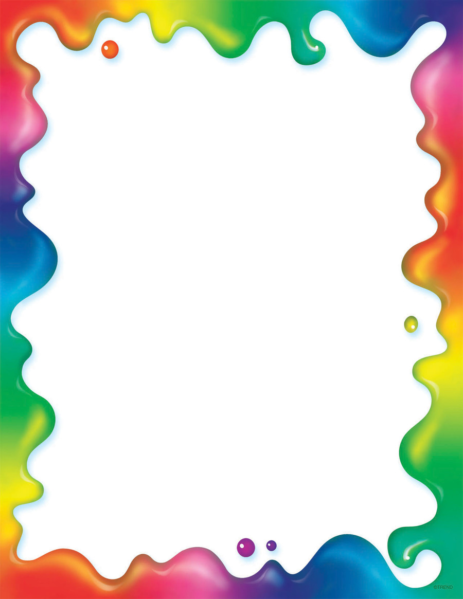 Download rainbow borders clipart Borders and Frames Rainbow Clip art.