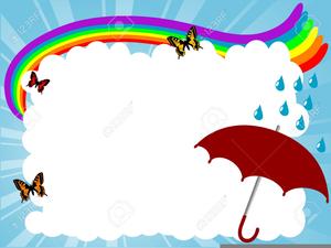 Free Rainbow Clipart Borders.