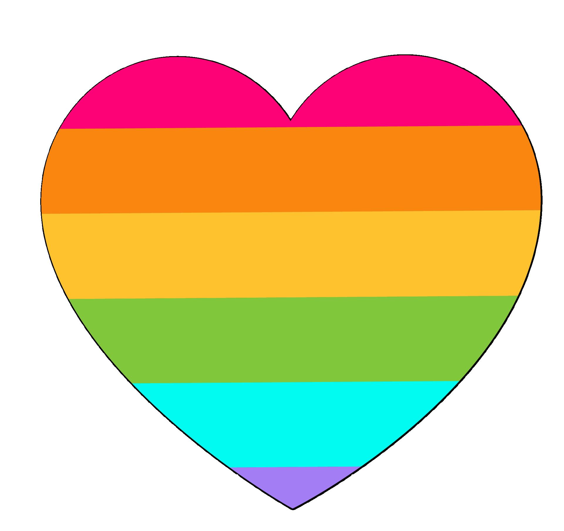 Rainbow Euclidean vector Clip art.