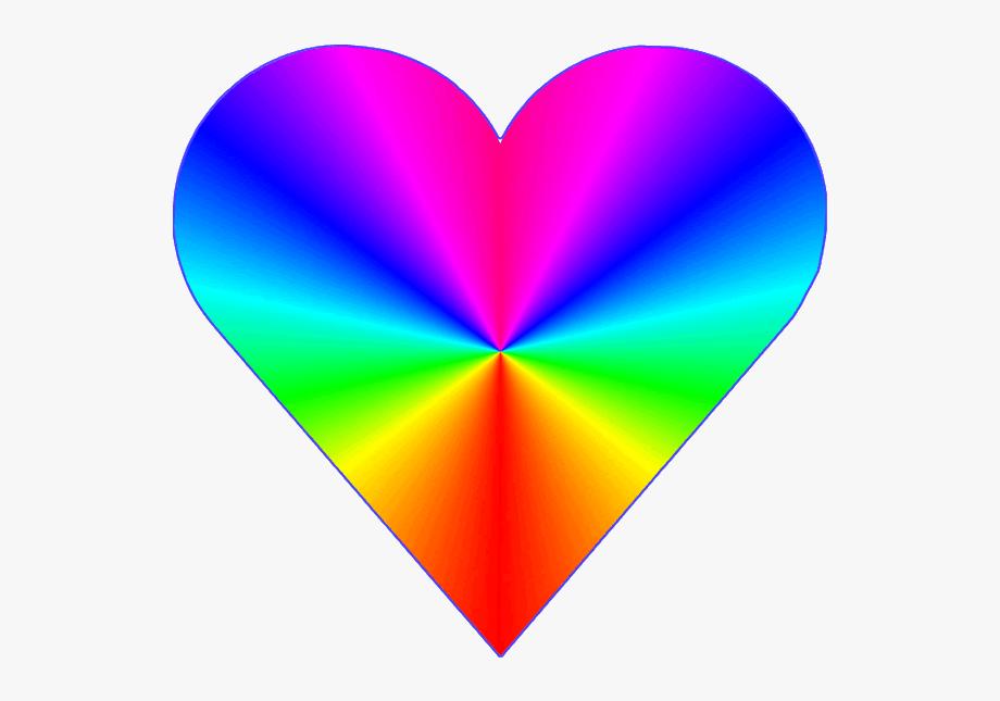 Rainbow Heart Clip Art Clipart Free Download.
