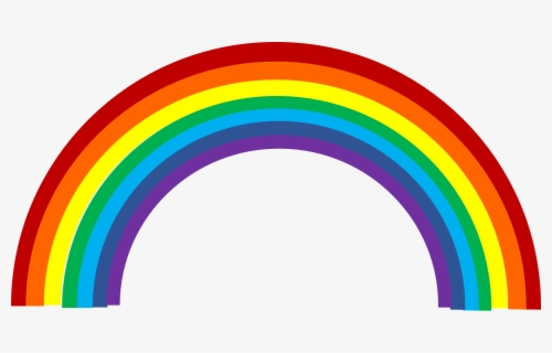 Free Rainbow Free Clip Art with No Background.