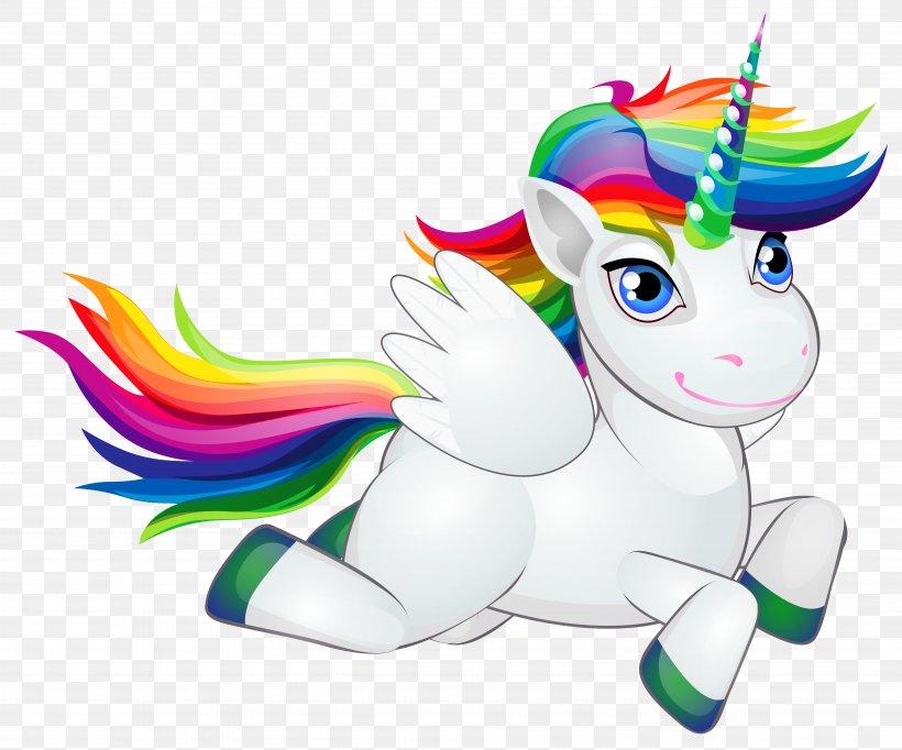 Pony Horse Rainbow Unicorn Clip Art, PNG, 7642x6363px, T.