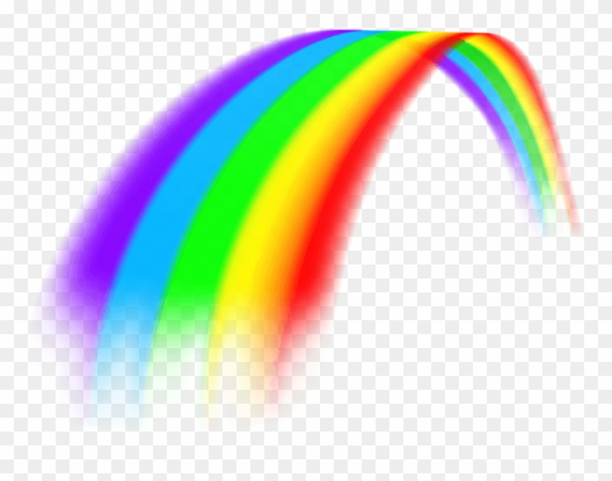 Free Download These Rainbow Clip Art.