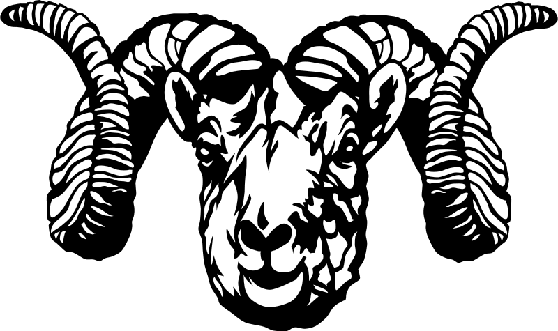 Free Clipart: Dall Sheep Ram (stylized).