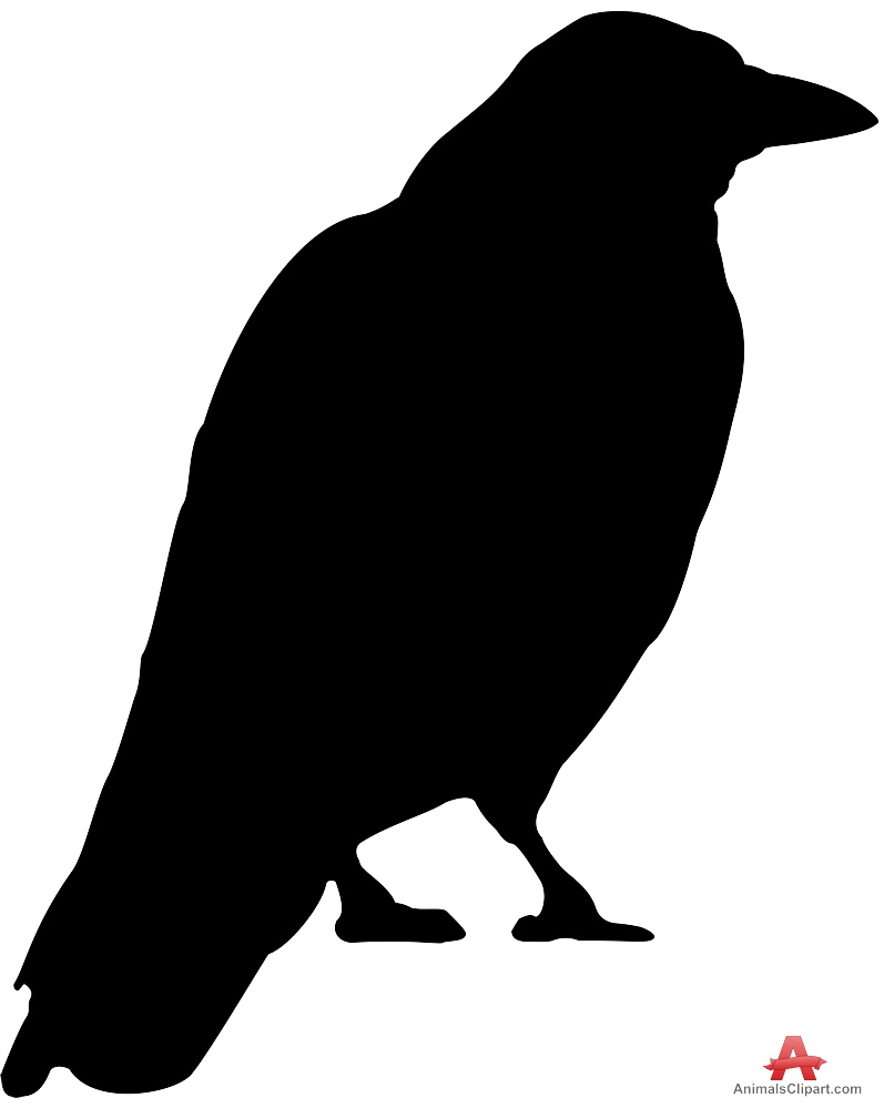 Free Raven Silhouette Cliparts, Download Free Clip Art, Free.