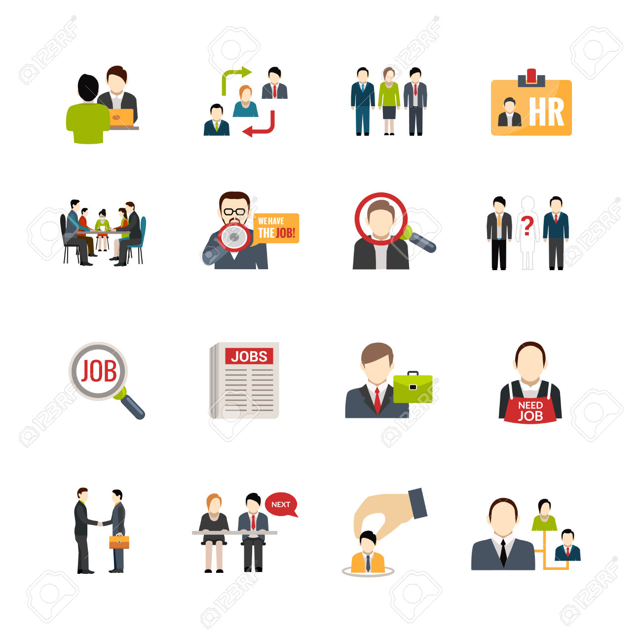 23,697 Recruitment Stock Vector Illustration And Royalty Free.