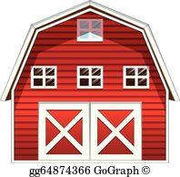 Red Barn Clip Art.