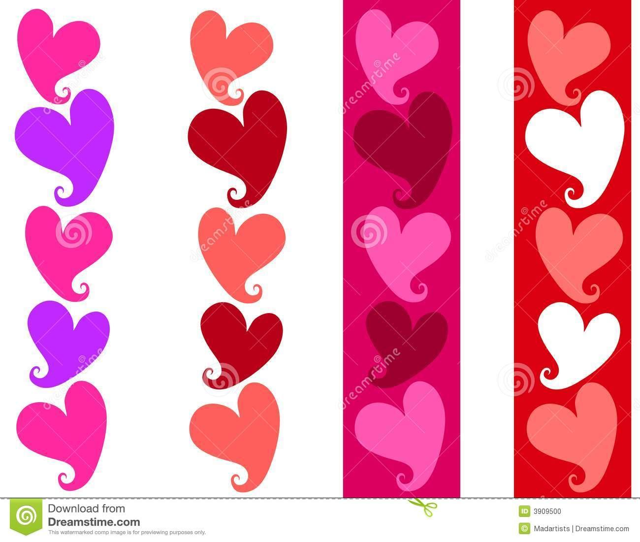Valentine Border Clip Art Free U0026 Valentine Border Clip Art Clip.