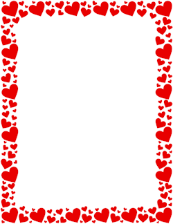 Red Heart Border.