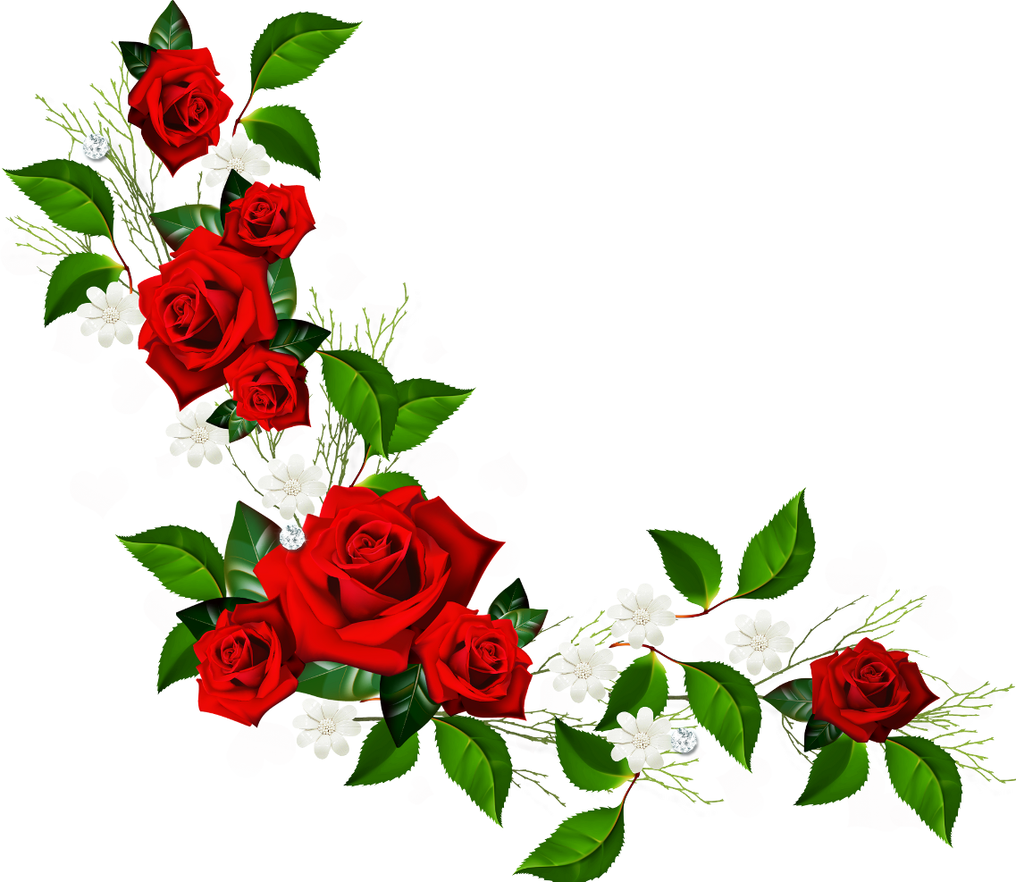 Rose Vine Clip Art.