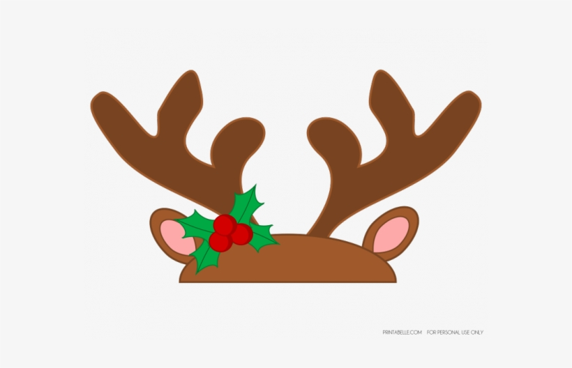Free Rudolph Antlers Png.