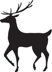 Free Reindeer Clipart Image.