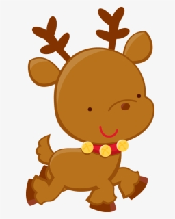 Free Cute Reindeer Clip Art with No Background.