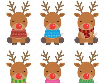 Top reindeer clip art free clipart image.