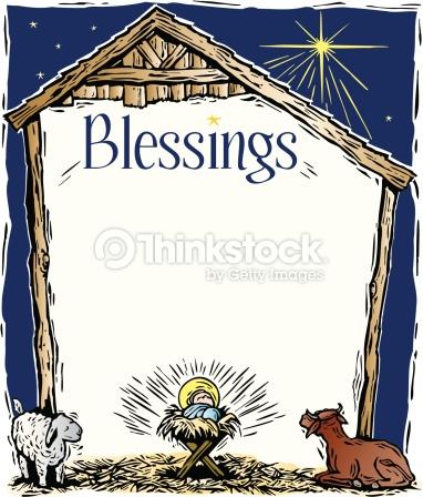 Free Religious Christmas Page Borders.