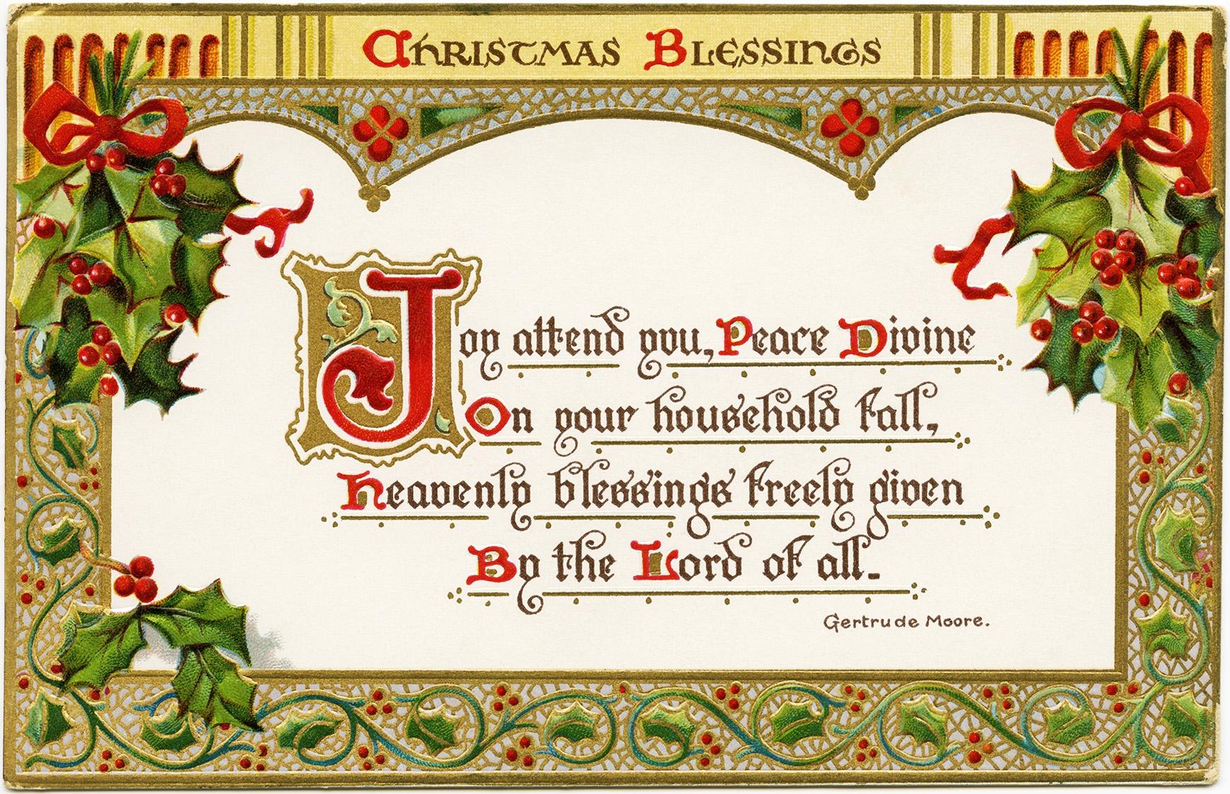 Card Christmas Religious Clipart#2202698.