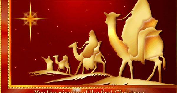 Merry Christmas Religious Clip Art.