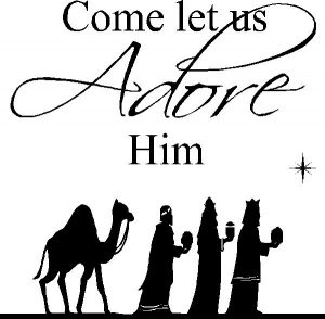 Religious Christmas Clip Art Black And White.