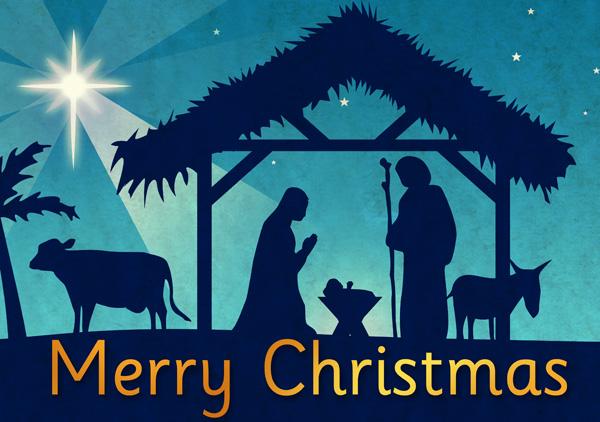 96+ Merry Christmas Religious Clip Art.