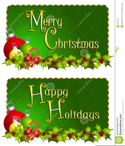Religious Christmas Clipart Banners.