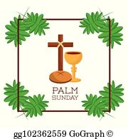Royalty Free Palm Sunday Clip Art.