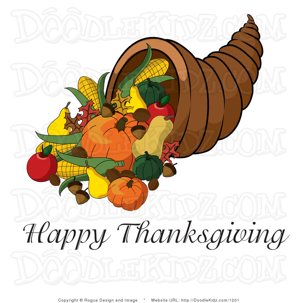 Christian Happy Thanksgiving Clipart.