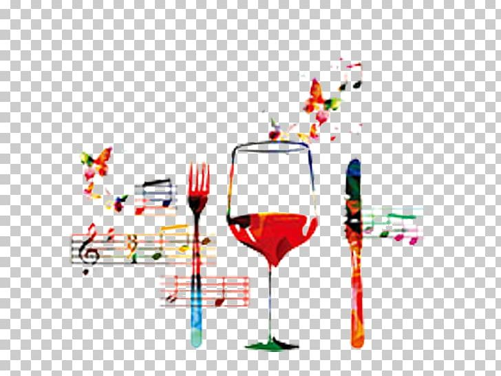 Wine Music Restaurant Illustration PNG, Clipart, Champagne.