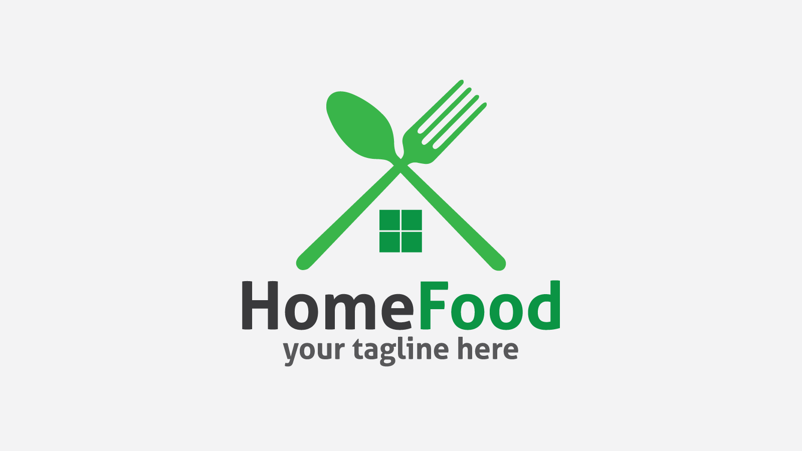 HomeFood free logo design.