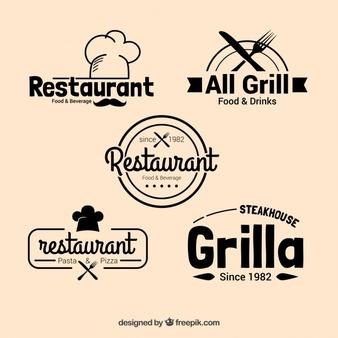 Restaurant Logo Vectors, Photos and PSD files.