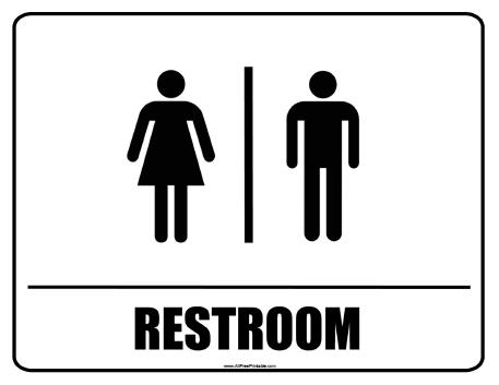 Free Bathroom Signs, Download Free Clip Art, Free Clip Art.