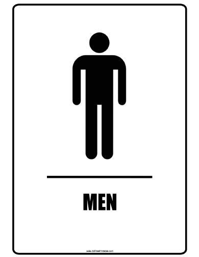 Free Printable Restroom Signs, Download Free Clip Art, Free.