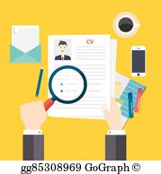 Resume Writing Clip Art.