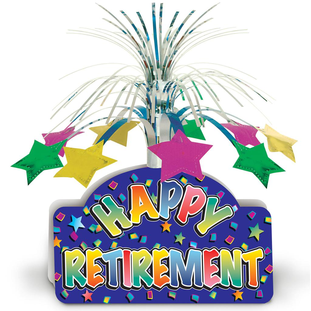 Retirement Party Clipart Worksheet 934.