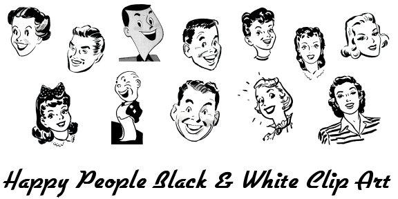 Free Vintage Clipart People.