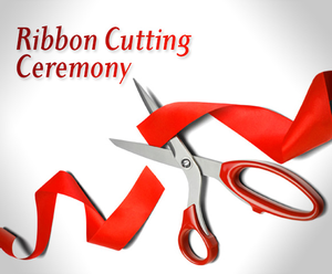 Ribbon Cutting Ceremony Clipart.
