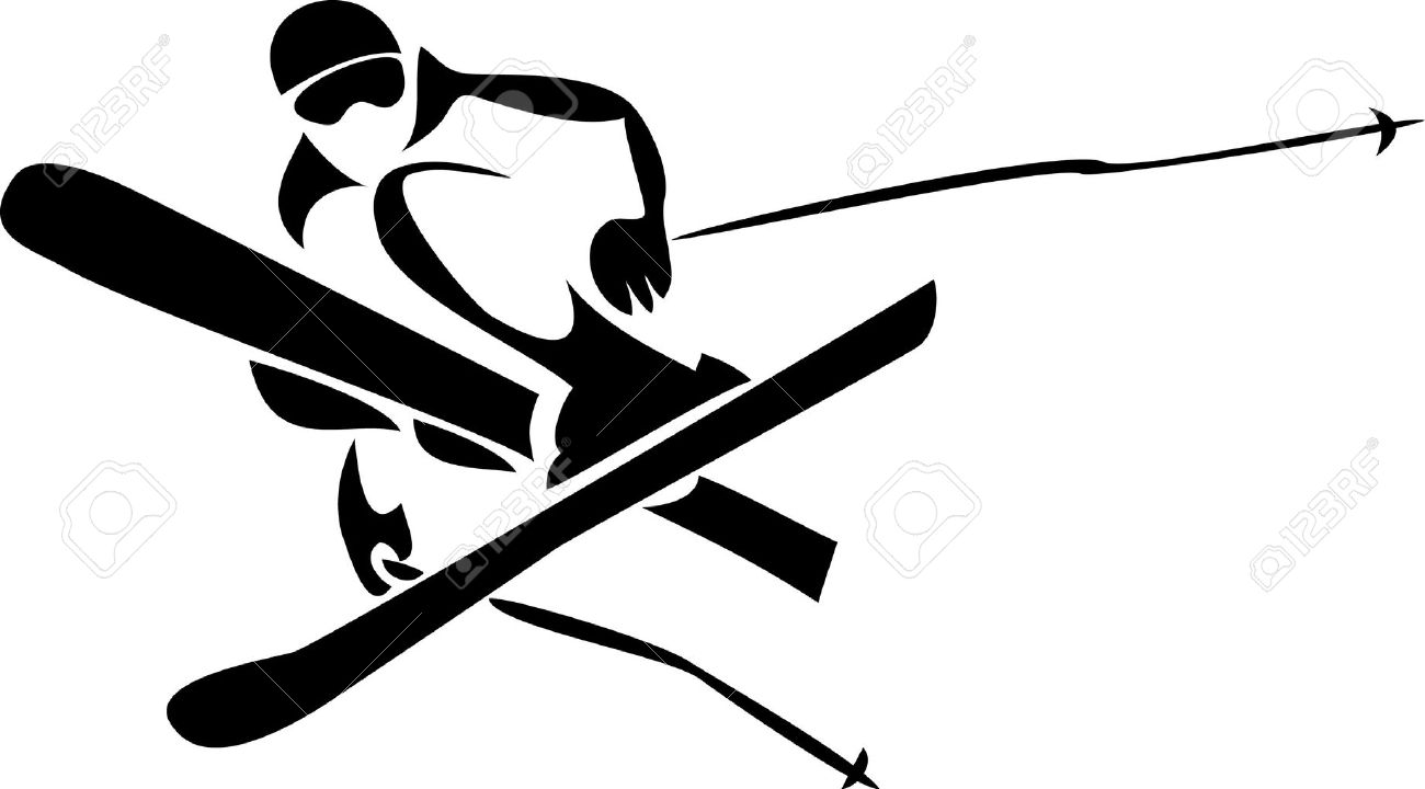 Freeride Skier Royalty Free Cliparts, Vectors, And Stock.