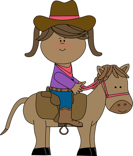 Pony Ride Clipart.