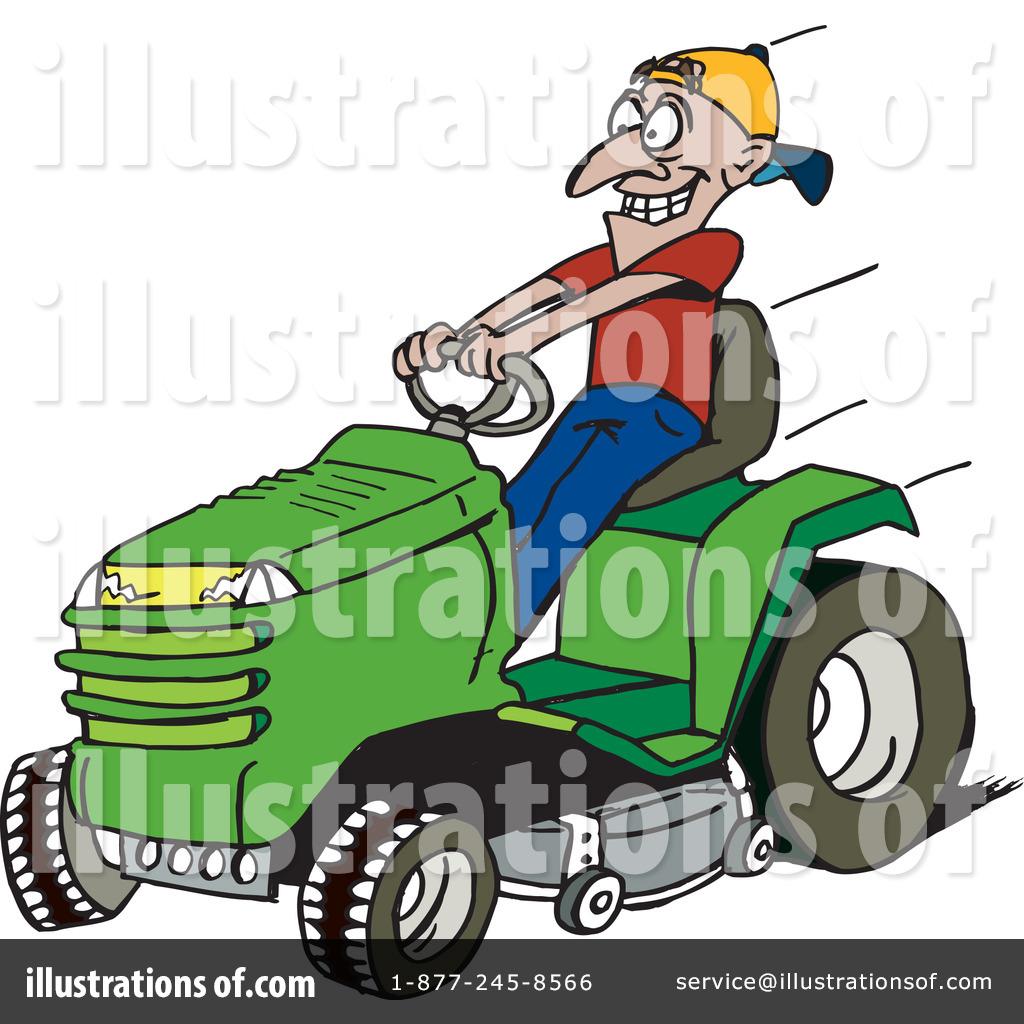 Lawn Mower Clipart #43147.